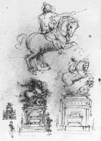 Trivulzio_Equestrian_Monument_study