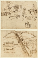 Codex Atlanticus «Атлантический кодекс» листы 101 - 200