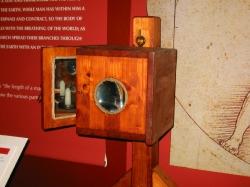 Прожектор - модель по рисунку Леонардо да Винчи