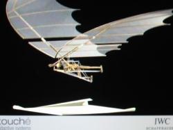 Модель летающей машины с системой взмаха крыла (вид 3)