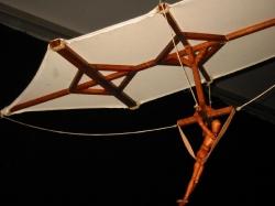Дельтаплан, модель - по наброску Леонардо да Винчи