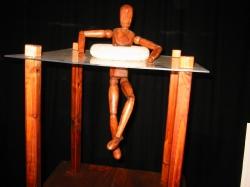 Спасательный круг, модель - по наброску Леонардо да Винчи